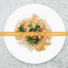 Chicken Korma with Fragrant Rice