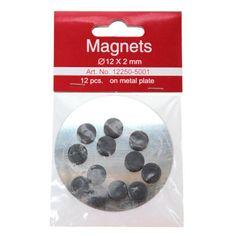 Magneetti 12x2mm 12kpl