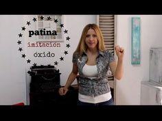 Como hacer patina Imitación oxido ♥ Marina Capano