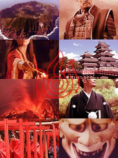 The cultures which inspired Avatar: The Last Airbender Fire Nation - Pre-Meiji Japan