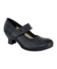 Take a look at this Black Verona II Pump - Women ♥ by Wolky on zulily today!