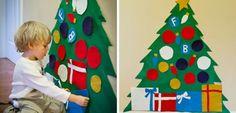 Kerstboom versieren voor peuters