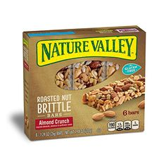 Nature Valley Granola Bars Roasted Nut Crunch Almond Crunch 6 Bars  12 oz Pack of 6 ** Want to know more, click on the image.(It is Amazon affiliate link) #90likes