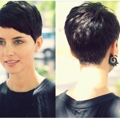 Hairstyles Corto 40 Best Pixie Haircuts for Women 2018 - Short Pixie Haircuts & Long Pixie Cuts.Hairstyles Corto 40 Best Pixie Haircuts for Women 2018 - Short Pixie Haircuts & Long Pixie Cuts Pixie Hairstyles, Haircuts For Fine Hair, Haircut For Thick Hair, Short Pixie Haircuts, Thin Hair, Casual Hairstyles, Pixie Bob, Medium Hairstyles, Latest Hairstyles