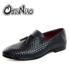 new style cefb3 fb698 2017 New Spring Autumn Men Casual Shoes Slip-On Breathable Comfortable Male  Loafers Luxury Mens Business Flats Plus Size 47 48