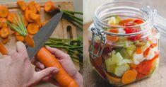 """Φτιάξτε σπιτικό τουρσί: Τα """"διαμάντια"""" της ελληνικής γης κλεισμένα σε βάζα Fresh Rolls, Vegetable Recipes, Pickles, Carrots, Cooking Recipes, Vegetables, Ethnic Recipes, Food, Chutneys"""