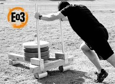 to Make a Prowler Sled The art of Manliness. how to make your own prowler/sledThe art of Manliness. how to make your own prowler/sled Crossfit Equipment, Home Gym Equipment, No Equipment Workout, Homemade Gym Equipment, Football Equipment, Crossfit Gym, Training Equipment, Home Treadmill, Backyard Gym