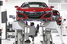 Start Production of New HONDA ( Acura ) NSX