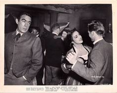 """Anthony Quinn and Katy Jurado in """"Man from Del Rio,"""" a 1956 American Western film directed by Harry Horner and written by Richard Carr. The film stars Anthony Quinn, Katy Jurado, Peter Whitney, Douglas Fowley, John Larch, Whit Bissell and Douglas Spencer. The film was released October 30, 1956, by United Artists."""
