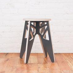 Isaac Krady birch stool