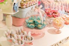Little Birds Pink and Blue Party via Kara's Party Ideas | Kara'sPartyIdeas.com #little #birds #pink #and #blue #party #ideas #supplies (31)