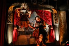 1 out of 5 Americans say they plan to visit a haunted house this year. Shown here, Knott's Scary Farm at Knott's Berry Farm. Here's how to get scared silly for less.