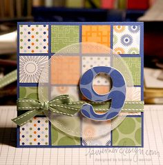 Great use of scraps and all that handmade paper I have!