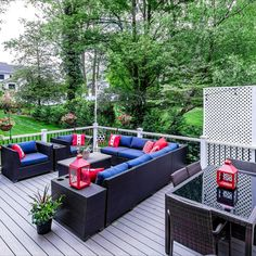 Private and serene .50 acre lot located on a quiet street. Outdoor entertaining on the back deck. Fenced yard backing to trees. Listed in Vienna, Virginia for $1.6M by The Casey Samson Team is a Wall Street Journal Top Team in Northern Virginia