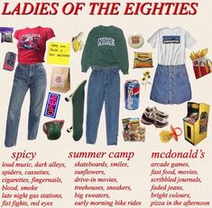 it was day at school and im pretty sure im spicy girl cause i was wearing a van halen shirt with mom jeans and a belt 80s Aesthetic, Aesthetic Fashion, Aesthetic Clothes, Camping Aesthetic, Retro Outfits, Vintage Outfits, Estilo Grunge, Mode Style, 90s Style