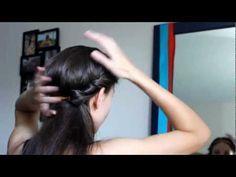 #DIY #hair TUTORIAL: EASY HEADBAND UPDO