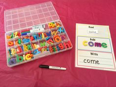 Learn Sight Words: Read Build Write Printable Activity Mats With Dolch Words