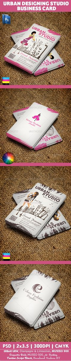 Urban Fashion Studio Business Card - Business Card Template PSD. Download here: http://graphicriver.net/item/urban-fashion-studio-business-card/2337993?s_rank=258&ref=yinkira