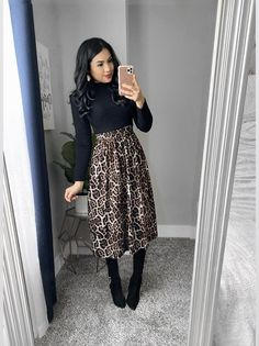 Modest, Modern, Chic and affordable dresses. – The Darling Style Modest Winter Outfits, Modest Church Outfits, Skirt Outfits Modest, Classy Outfits, Church Outfit Winter, Fall Casual Dresses, Fall Skirt Outfits, Winter Office Outfit, Church Dresses