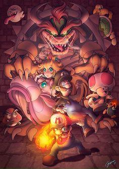 Super Mario Bros. By Nicole Cepeda
