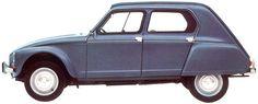 Citroën: 1968 Dyane 4 Confort