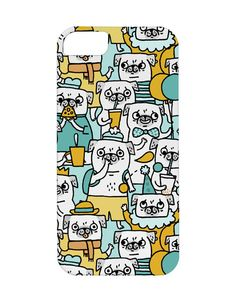 Pug pattern iPhone case iconemesis.co.uk--& Peggy Bekah MUST HAVE!