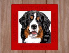 Bernese Mountain Dog sign plate van watch4dogz op Etsy