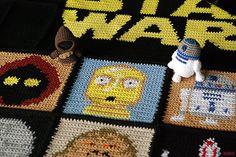 Ravelry: Star Wars blanket pattern by Ahooka Migurumi