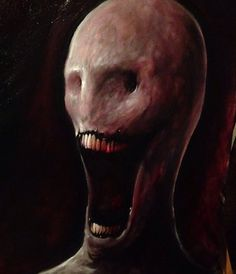 By Zach Dunn Scary Art Creepy Pictures Horror Monster