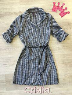 0e353fa7017d Super Προσφορά μόνο για τις Online αγορές σας! Καρό φόρεμα πουκάμισο σε  s-m-l-xl