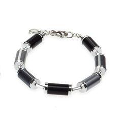 Coeur de Lion Vivacity Steel Cylinder Bracelet - A 4206 #coeurdelion