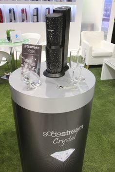 SodaStream Limited Edition Black Elegant Crystal with Swarovski Finishings