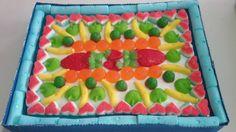 Tarta de gomis jardin de frutas.