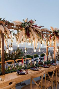 Boquette Flowers, Flower Chandelier, Wedding Dinner, Wedding Reception, Greece Wedding, Outdoor Wedding Decorations, Bridal Stores, Modern Bohemian, Wedding Ideas