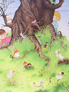 I love the illustrations of Gyo Fujikawa.