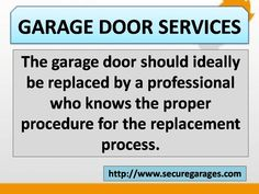 Secure for Sure provides best Garage Door Spring, Cable & opener repair Services in Pennsylvania, Delaware and New Jersey. We assure quality services of garage door replacement, maintenance and installation. Overhead Garage Door, Garage Doors, Garage Door Opener Repair, Garage Door Springs