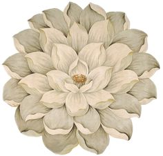 rugstudio-Barclay Butera Bloom Bm09 Beige Area Rug