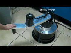 DD馬達驅動scara robot Teaching - YouTube