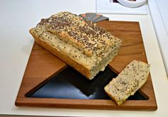 Delicious Seeded Club Soda Bread is made with sesame seeds, flax seeds, and quinoa #BreadBakers