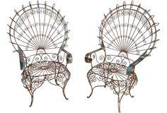 Victorian Garden Chairs