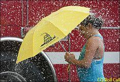 Tea party umbrella