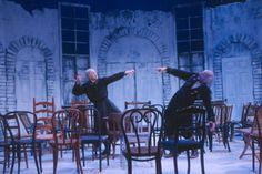 Ionesco The Chairs by amaah, via Flickr