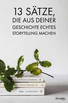 13 sentences that make real storytelling out of your story .- 13 Sätze, die aus deiner Geschichte echtes Storytelling machen Storytelling: 13 sentences that turn your story into true storytelling. Mail Marketing, Content Marketing, Online Marketing, Social Media Marketing, Social Web, Facebook Marketing, Like Facebook, Facebook Business, Online Business