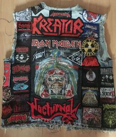 Battlejacket #1 Back