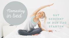 Eine kleine aber feine Yoga-Sequenz, die sich perfekt nach dem Aufstehen oder direkt vor dem Schlafen gehen eignet. Du kannst alle Übungen im Bett machen und...