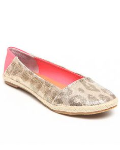 6389541c16e Love this Shiny Animal Print Comfy Flat by Not Rated on DrJays. Take a look