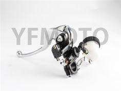 New Motorcycle Front Brake Master Cylinder Reservoir Clutch Lever For Kawasaki ER-6F/ Ninja 650 ER-6N VN750 ZX750 Z750 ZX600  #Affiliate
