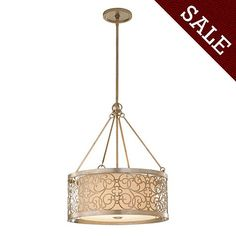 Mariah Pendant [illuminate] I ballarddesigns.com