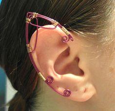 @Veronica Beshara  Elf Ear Cuffs Faerie Ear Wraps by MadeByKozee on Etsy
