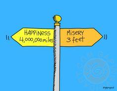 Misery 3 Feet | gapingvoid art